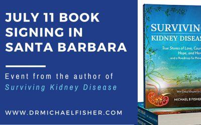 July 11 Book Signing in Santa Barbara