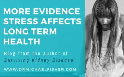 More evidence stress affects long term health